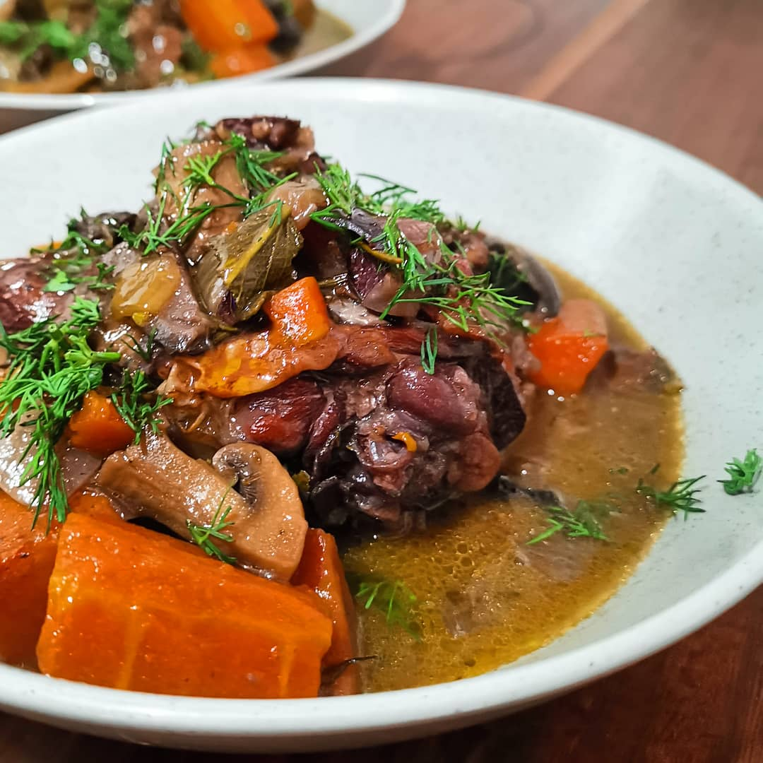 Rustic french casserole
